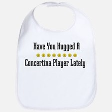 Hugged Concertina Player Bib