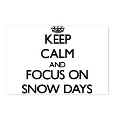 Keep Calm and focus on Sn Postcards (Package of 8)