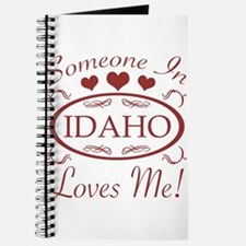 Somebody In Idaho Loves Me Journal