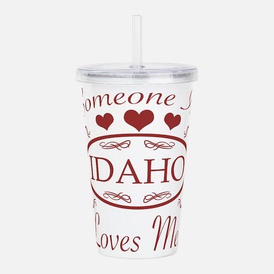 Somebody In Idaho Love Acrylic Double-wall Tumbler