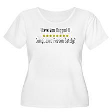 Hugged Compliance Person T-Shirt