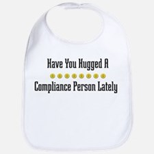 Hugged Compliance Person Bib