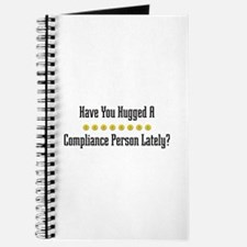 Hugged Compliance Person Journal