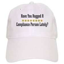 Hugged Compliance Person Baseball Cap