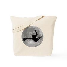 Soccer Goalie Moon Tote Bag