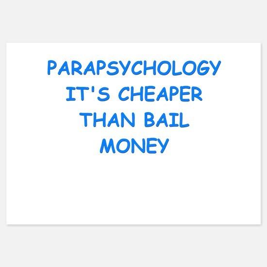 parapsychology 5x7 Flat Cards