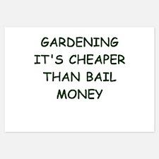 gardening Invitations