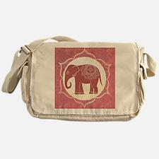 Indian Elephant Messenger Bag