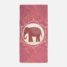 Indian Elephant Beach Towel