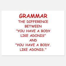 grammar Invitations