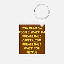 anti communist Keychains