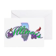Illinois Greeting Cards (Pk of 10)
