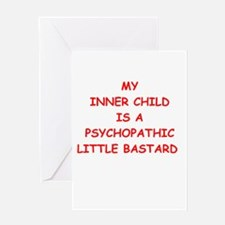 inner child Greeting Card