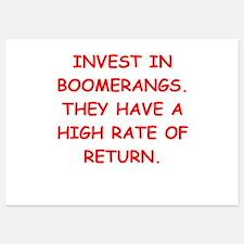 boomerang Invitations