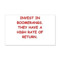 boomerang Wall Decal