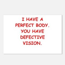perfect body Postcards (Package of 8)