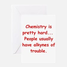 CHEMISTRY3 Greeting Card