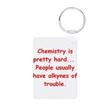 CHEMISTRY3 Aluminum Photo Keychain