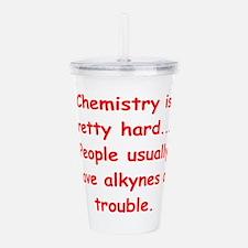 CHEMISTRY3 Acrylic Double-wall Tumbler