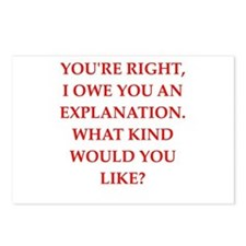 explanation Postcards (Package of 8)