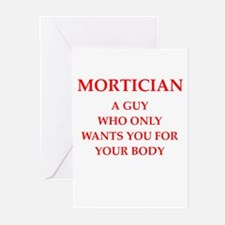 mortician Greeting Cards (Pk of 10)