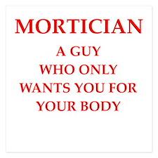 mortician Invitations