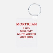 mortician Keychains