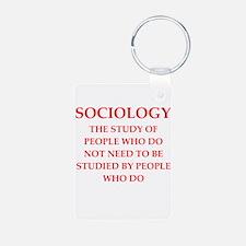 sociology Keychains