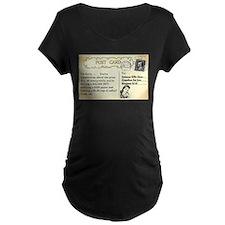 Post Office complaint humor Maternity T-Shirt