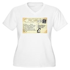 Post Office complaint humor Plus Size T-Shirt