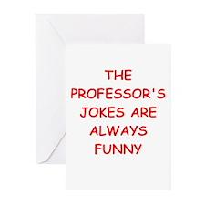 professor Greeting Cards (Pk of 20)