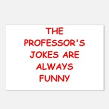 professor Postcards (Package of 8)