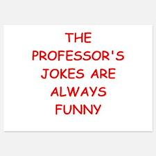 professor Invitations