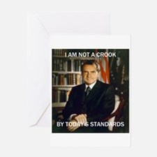 i am not a crook Greeting Card