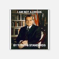 """i am not a crook Square Sticker 3"""" x 3"""""""