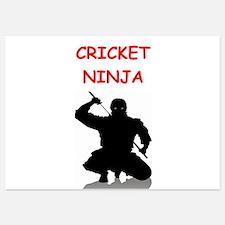 cricket Invitations