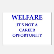 welfare Postcards (Package of 8)