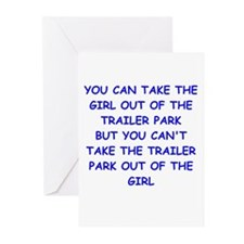trailer park Greeting Cards (Pk of 20)