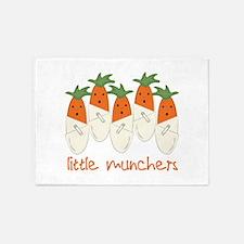 Little Munchers 5'x7'Area Rug