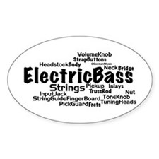 Electric Bass Decal