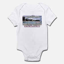 Royal Hawaiian Hotel 1952 Infant Bodysuit