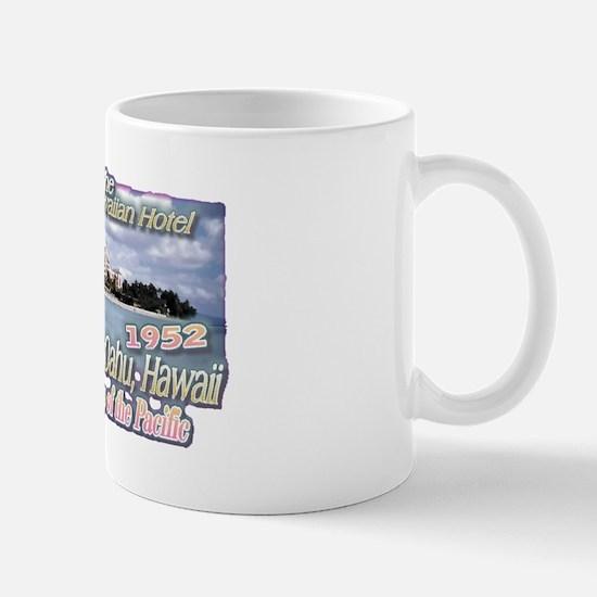 Royal Hawaiian Hotel 1952 Mug