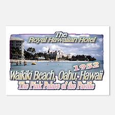 Royal Hawaiian Hotel 1952 Postcards (Package of 8)