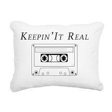 Keepin It Real Rectangular Canvas Pillow