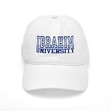 IBRAHIM University Baseball Cap