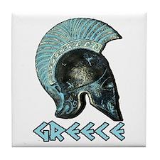 Greek Hoplite Tile Coaster