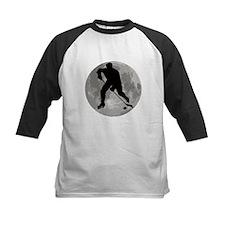 Hockey Player Moon Baseball Jersey