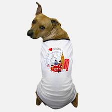 Bus tour Dog T-Shirt