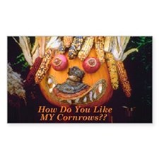 Halloween Pumpkin With CORNrows Decal