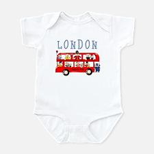 London Bus Infant Bodysuit